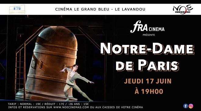 Notre Dame de Paris : Jeudi 17 Juin à 19h00
