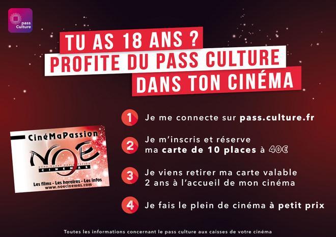Fais le plein de cinéma avec le Pass culture !