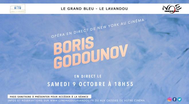 METROPOLITAN OPERA : Boris Godounov - En direct