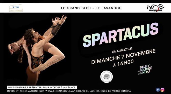 BALLET BOLCHOÏ en direct au cinéma : SPARTACUS